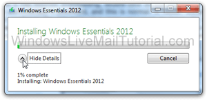 Download and install selected Windows Live apps