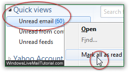 Mark ALL email messages as Read!