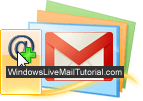 Setup Gmail account in Windows Live Mail